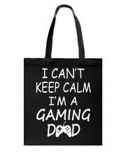 I'M A GAMING DAD Tote Bag thumbnail