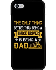 A truck driver and a dad Phone Case thumbnail