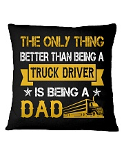A truck driver and a dad Square Pillowcase thumbnail