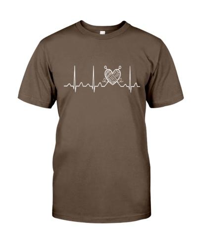 Knitting Heartbeat
