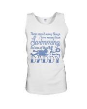Swimming Daddy Unisex Tank thumbnail
