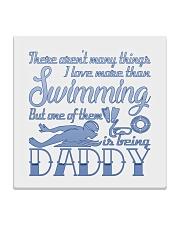 Swimming Daddy Square Coaster thumbnail