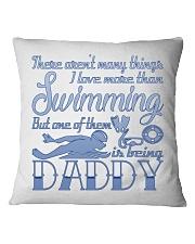 Swimming Daddy Square Pillowcase thumbnail