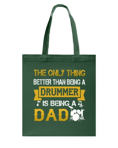 A drummer and a dad