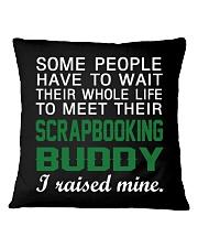 Scrapbooking Buddy Square Pillowcase thumbnail