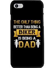 A Biker and a Dad Phone Case thumbnail