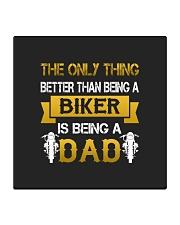 A Biker and a Dad Square Coaster thumbnail