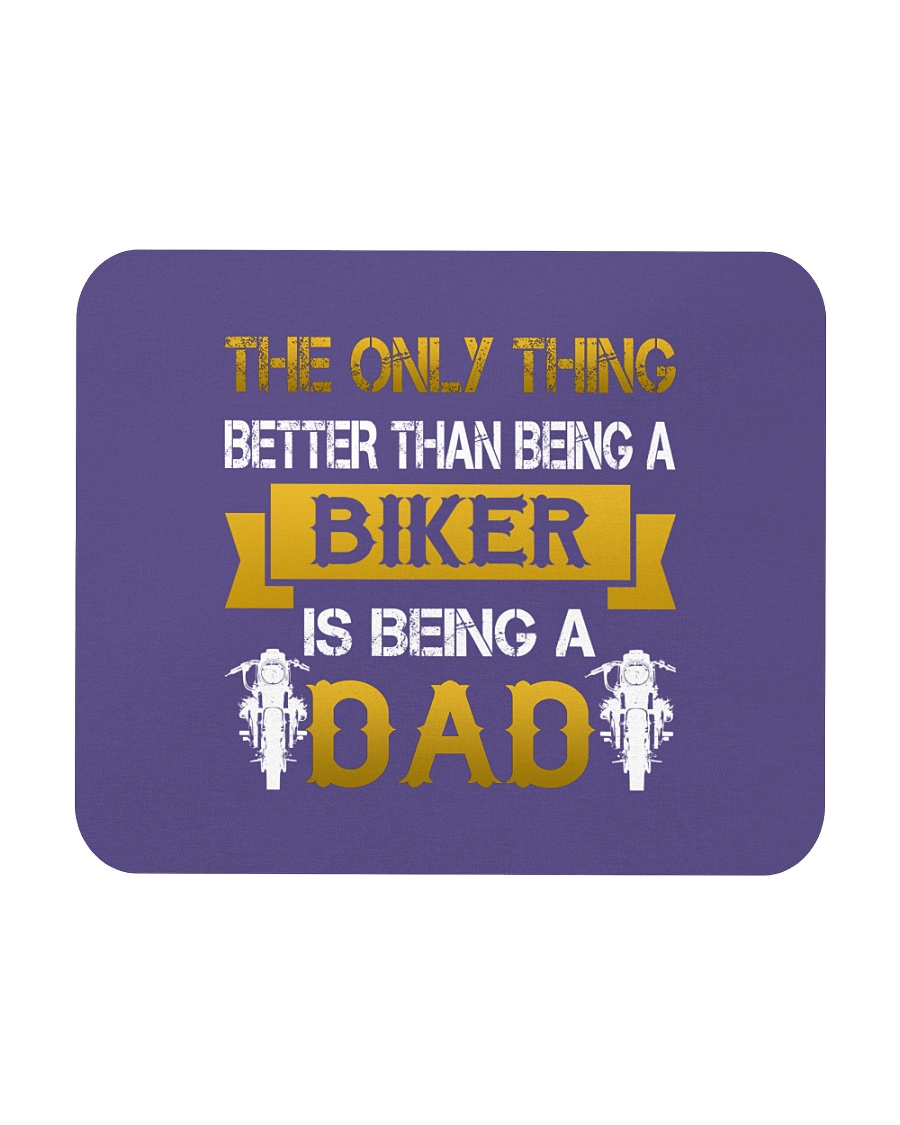 A Biker and a Dad Mousepad