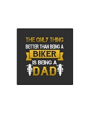 A Biker and a Dad Square Magnet thumbnail