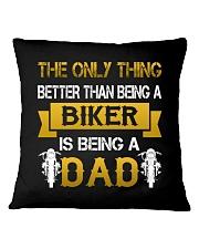 A Biker and a Dad Square Pillowcase thumbnail