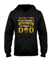 A basketball player and a dad Hooded Sweatshirt thumbnail