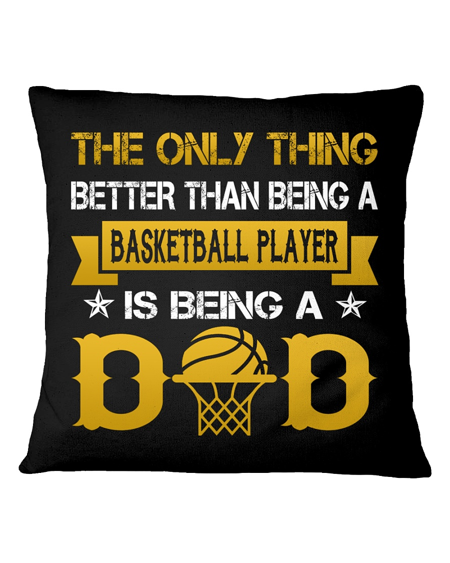 A basketball player and a dad Square Pillowcase