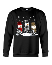 Faith Hope Love Snowman Crewneck Sweatshirt thumbnail