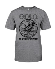 Viking shirt : Odin is Everywhere Classic T-Shirt front