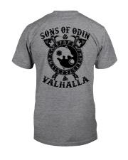 Viking T-shirts : Sonsofodin Valhalla : Wolf Classic T-Shirt back