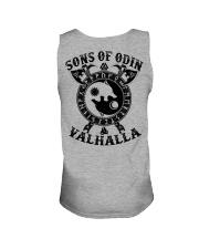 Viking T-shirts : Sonsofodin Valhalla : Wolf Unisex Tank thumbnail