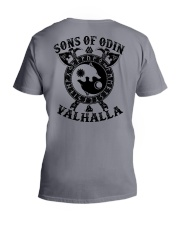 Viking T-shirts : Sonsofodin Valhalla : Wolf V-Neck T-Shirt thumbnail
