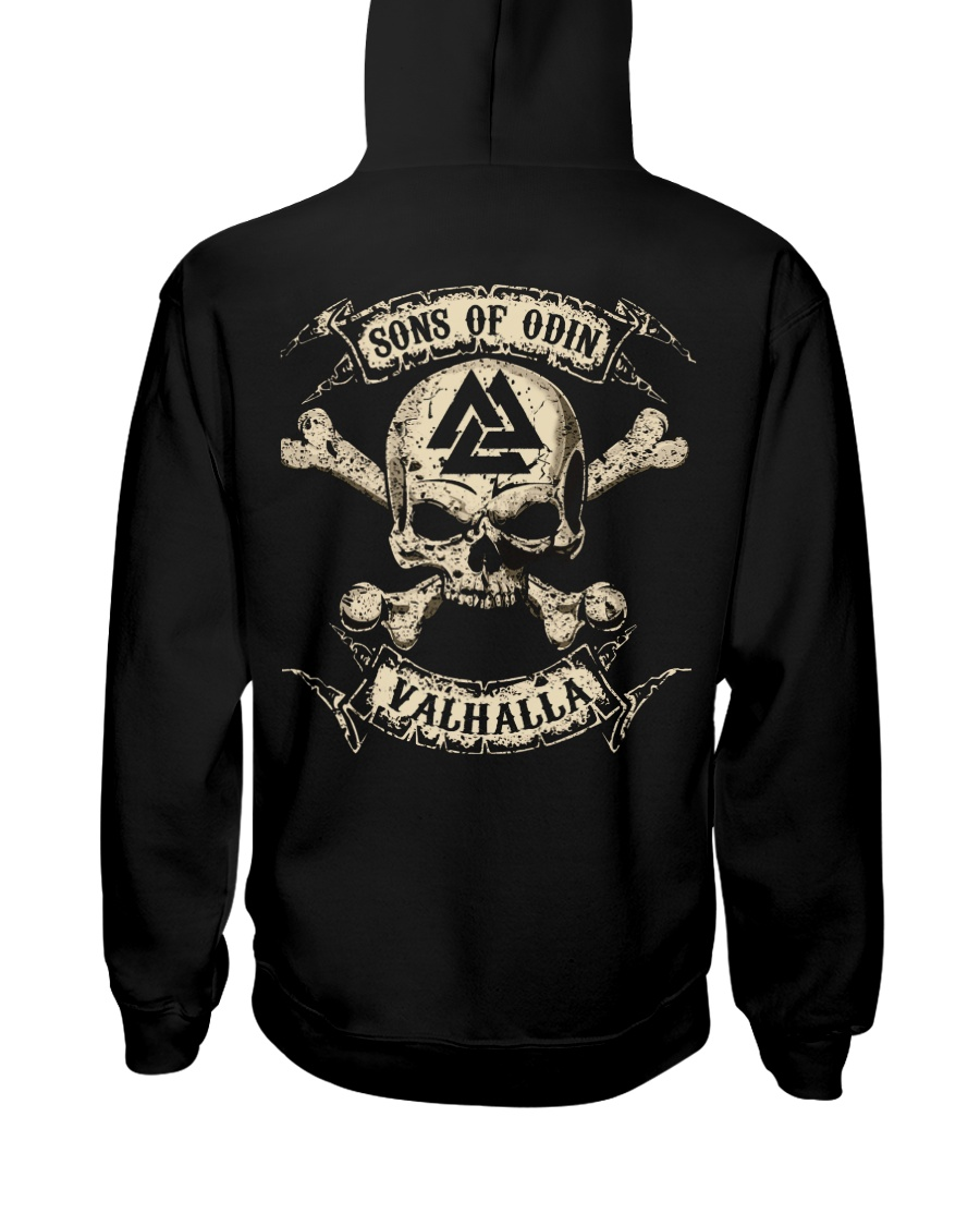 Valhalla - Viking Shirt Hooded Sweatshirt