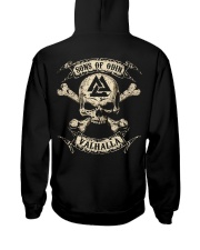 Valhalla - Viking Shirt Hooded Sweatshirt back
