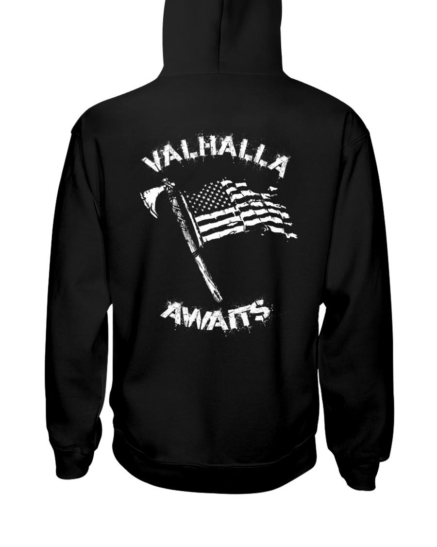 VALHALLA AWAITS - VIKING T-SHIRTS Hooded Sweatshirt
