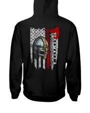 Helmet Valhalla Flag - Viking Shirt Hooded Sweatshirt thumbnail