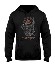 Viking Shirt : Wolf Fenrir Ragnarock Viking Hooded Sweatshirt thumbnail