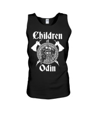 Viking Shirt : Childrend Of Odin Unisex Tank thumbnail