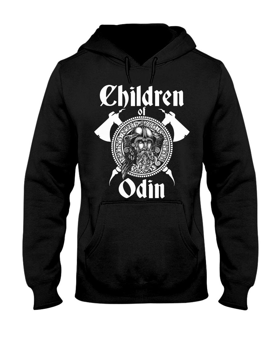 Viking Shirt : Childrend Of Odin Hooded Sweatshirt