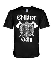 Viking Shirt : Childrend Of Odin V-Neck T-Shirt thumbnail