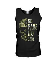 Viking Shirt - No Pain  No Gain Camo Unisex Tank thumbnail