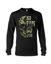 Viking Shirt - No Pain  No Gain Camo Long Sleeve Tee thumbnail