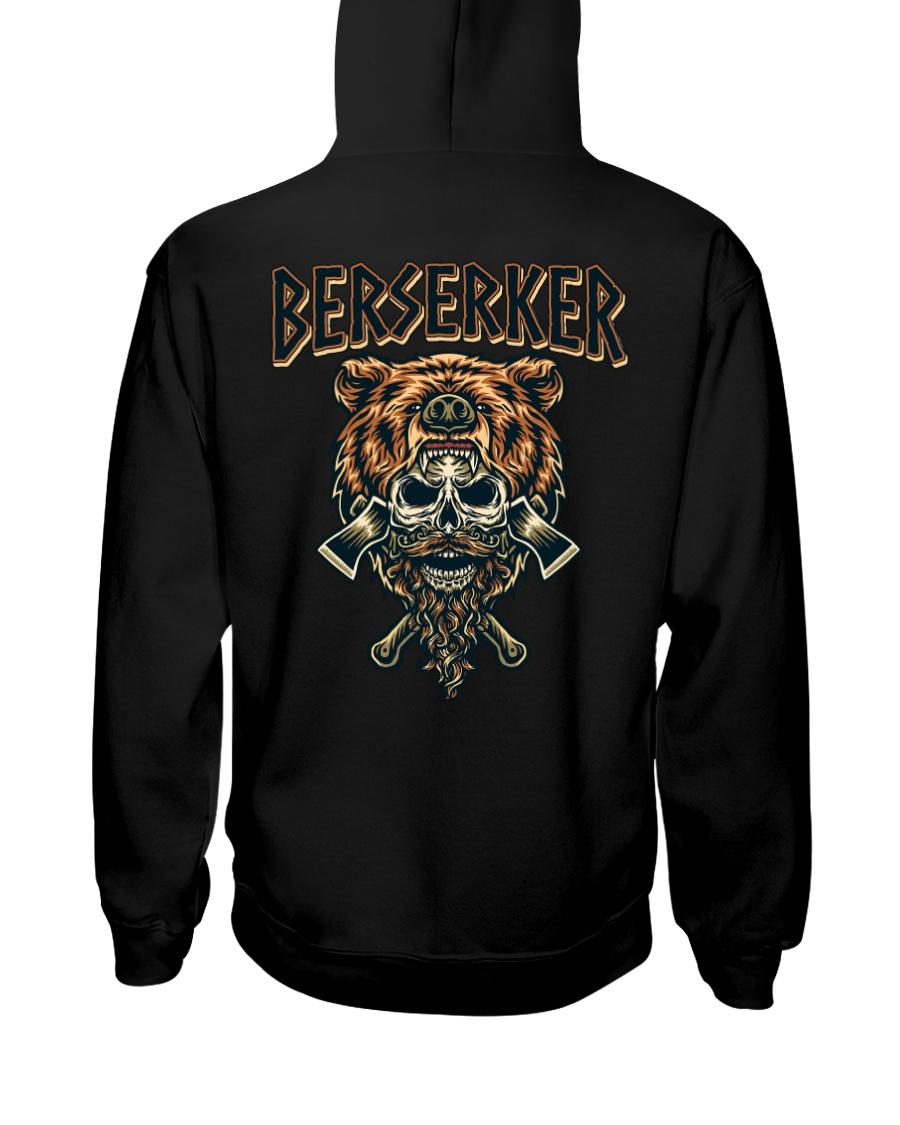 Viking Shirt : Viking Berserker Hooded Sweatshirt