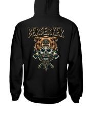 Viking Shirt : Viking Berserker Hooded Sweatshirt back