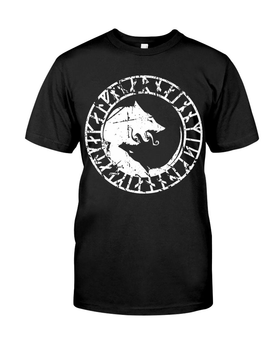 Yin Yang Wolf - Viking Shirt Classic T-Shirt