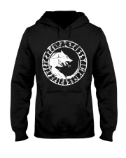 Yin Yang Wolf - Viking Shirt Hooded Sweatshirt thumbnail