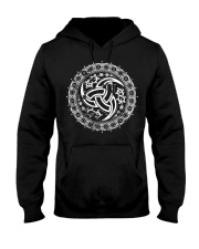 Triple Horn of Odin - Viking Shirt Hooded Sweatshirt thumbnail