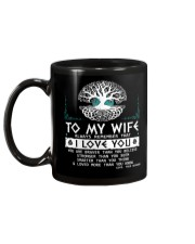 Viking Mugs : To My Wife - Viking Mug back