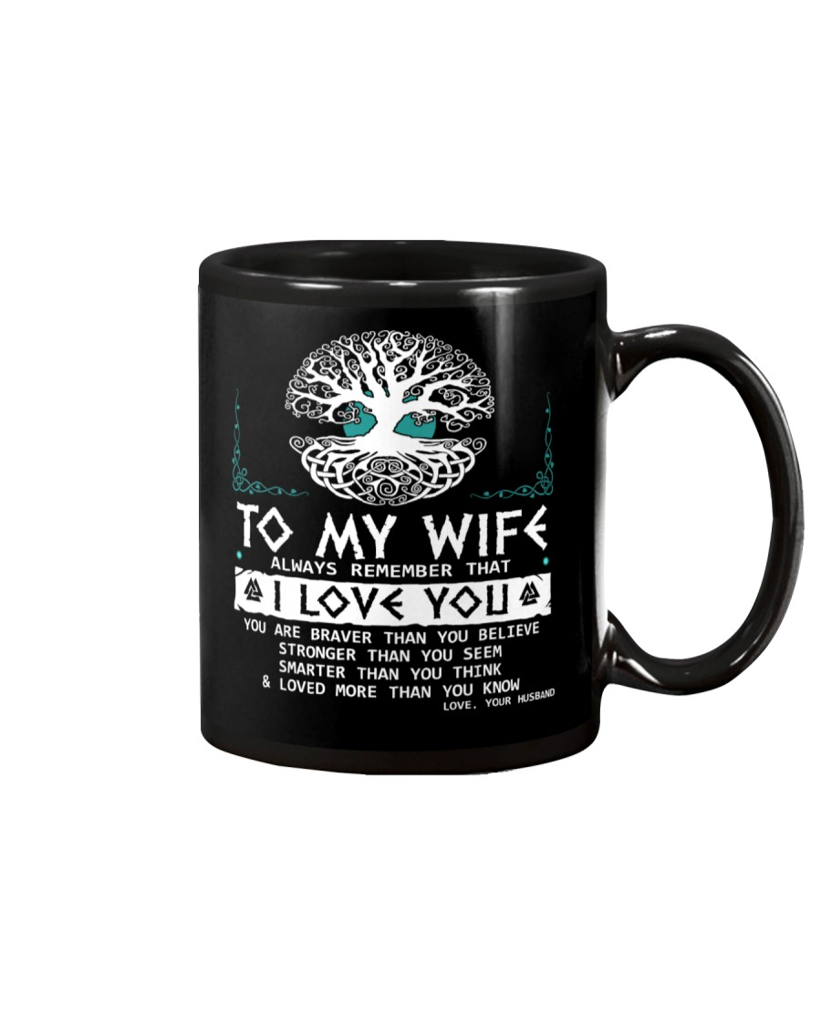Viking Mugs : To My Wife - Viking Mug