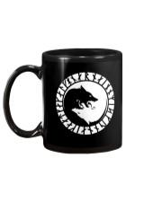 YIN YANG VIKING WOLF - VIKING MUGS Mug back