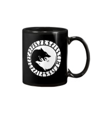 YIN YANG VIKING WOLF - VIKING MUGS Mug front
