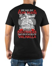 While His Brothers - Valhalla - Viking Shirt Classic T-Shirt apparel-classic-tshirt-lifestyle-back-280