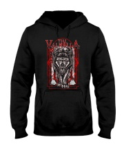 Till Valhalla - Wolf - Viking Shirt Hooded Sweatshirt tile