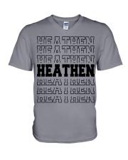 Viking Shirt - Viking Heathen V-Neck T-Shirt thumbnail