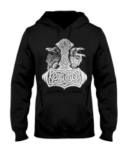 Until Valhalla - Raven Hammer Art Hooded Sweatshirt thumbnail