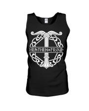 Viking Shirt : Heathen Proud Irminsul Yggdrasil Unisex Tank thumbnail