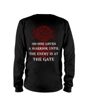 Viking Shirt - The Enemy Is At The Gate Long Sleeve Tee thumbnail