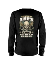 Never Mess With A Viking - Viking Shirt Long Sleeve Tee thumbnail