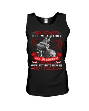My Scars - Viking Shirt Unisex Tank tile