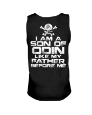 I Am A Son Of Odin Like Father Before Me Unisex Tank thumbnail