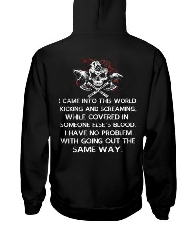 I Came Into This World - Viking Shirt